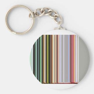 LineX4 Basic Round Button Keychain