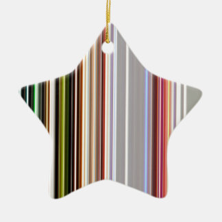LineX4 Ceramic Ornament