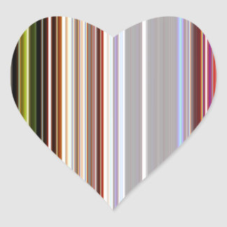 LineX4 Heart Sticker