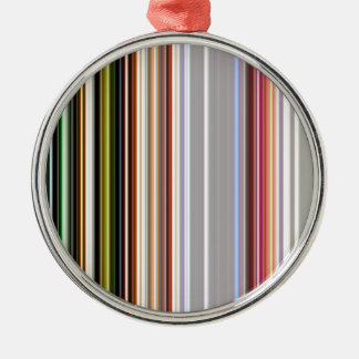 LineX4 Metal Ornament