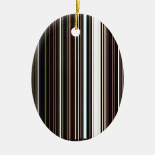 LineX5 Ceramic Ornament