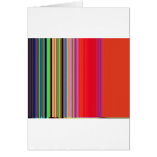 LineX6 Greeting Card