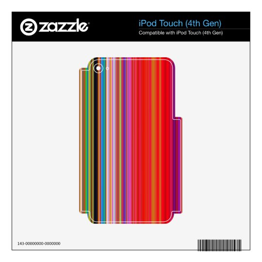 LineX7 iPod Touch 4G Skin