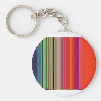 LineX7 Basic Round Button Keychain