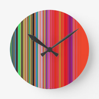 LineX7 Round Clock
