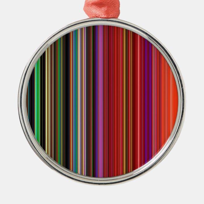 LineX8 Metal Ornament