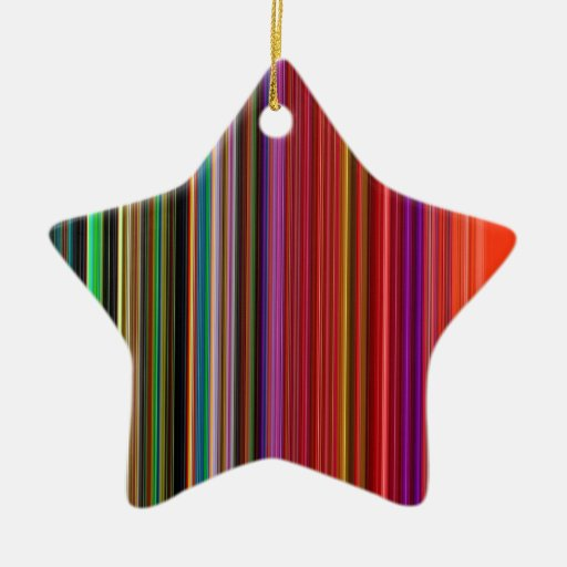 LineX8 Double-Sided Star Ceramic Christmas Ornament