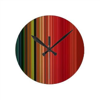 LineX9 Round Clock