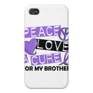 Linfoma Brother de la curación H del amor de la pa iPhone 4 Coberturas