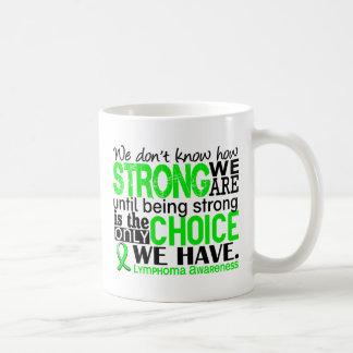 Linfoma cómo es fuerte somos taza de café