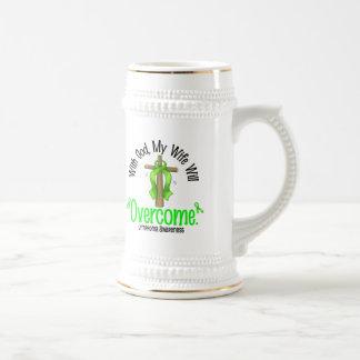 Linfoma con dios que mi esposa superará jarra de cerveza