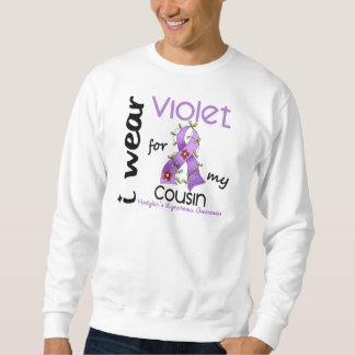 Linfoma de Hodgkins llevo la violeta para mi primo Suéter