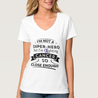 Linfoma de Hodgkins no un super héroe Camisas