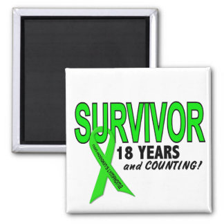 Linfoma de Non-Hodgkins superviviente de 18 años Imanes Para Frigoríficos