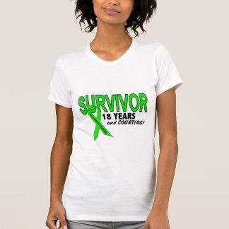 Linfoma de Non-Hodgkins superviviente de 18 años Camiseta