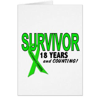 Linfoma de Non-Hodgkins superviviente de 18 años Tarjeta