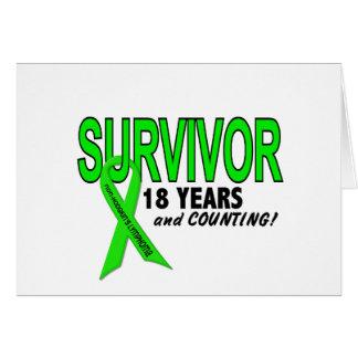 Linfoma de Non-Hodgkins superviviente de 18 años Felicitación