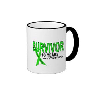 Linfoma de Non-Hodgkins superviviente de 18 años Taza De Café