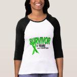 Linfoma de Non-Hodgkins superviviente de 3 años Camiseta