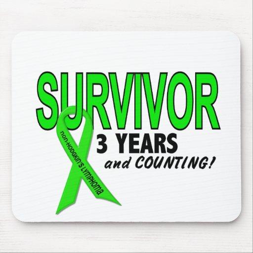 Linfoma de Non-Hodgkins superviviente de 3 años Alfombrilla De Ratones