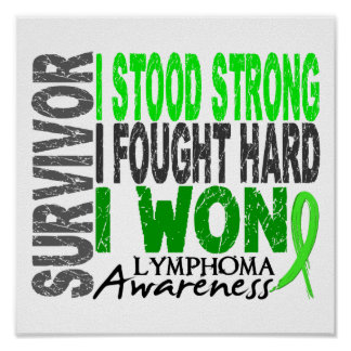 Linfoma del superviviente 4 posters