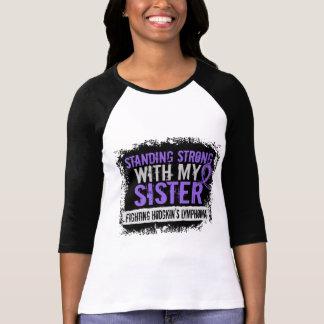 Linfoma fuerte derecho de Hodgkins de la hermana Camisetas