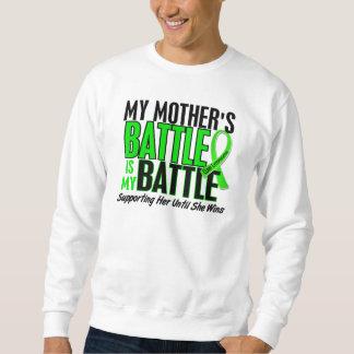 Linfoma mi batalla demasiado 1 madre sudadera con capucha