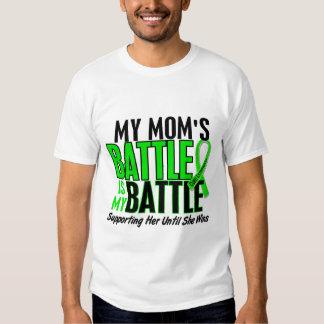Linfoma mi batalla demasiado 1 mamá playeras