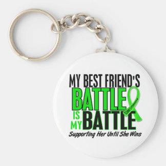 Linfoma mi batalla demasiado 1 mejor amigo llavero redondo tipo pin