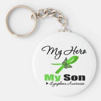 Linfoma mi héroe mi hijo llavero personalizado