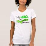 Linfoma MI HÉROE MI MAMÁ 42 Camiseta