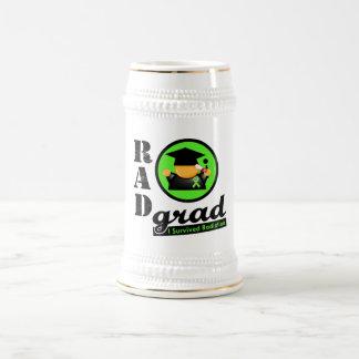 LINFOMA NO HODGKINS de la radiación del graduado Jarra De Cerveza
