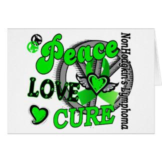 Linfoma Non-Hodgkin de la curación 2 del amor de l Felicitacion