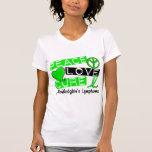 Linfoma Non-Hodgkin de la curación del amor de la  Camisetas