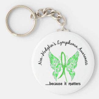 Linfoma Non-Hodgkin de la mariposa 6,1 del tatuaje Llaveros