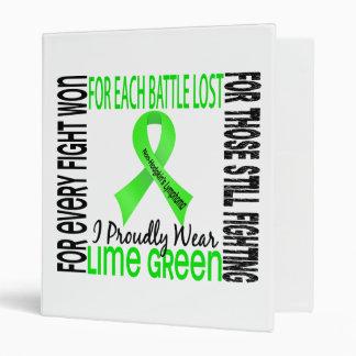 Linfoma Non-Hodgkin llevo orgulloso la verde lima