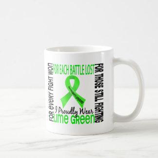 Linfoma Non-Hodgkin llevo orgulloso la verde lima  Taza