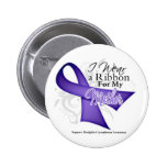 Linfoma violeta de Hodgkins de la cinta de la madr Pins