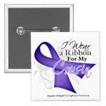 Linfoma violeta de Hodgkins de la cinta del primo Pins