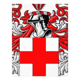 Linford Coat of Arms Custom Letterhead