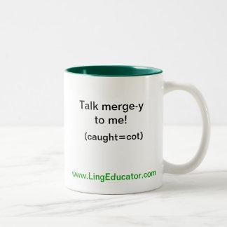 LingEducator Two-Tone Coffee Mug