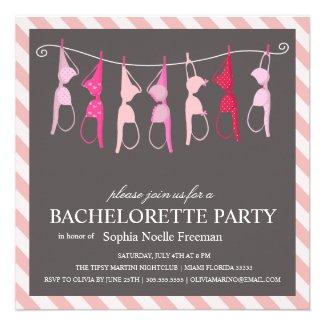 LINGERIE | BACHELORETTE PARTY INVITATION