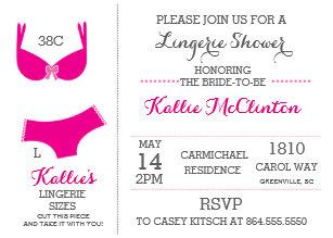 Lingerie bridal shower invitations announcements zazzle lingerie bridal shower bachelorette invitations filmwisefo