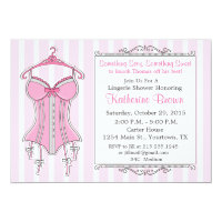 Lingerie bridal shower invitations announcements zazzle lingerie bridal shower invitation filmwisefo