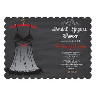 "Lingerie Bridal Shower Invitations 5"" X 7"" Invitation Card"