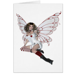 Lingerie Fairy Greeting Card