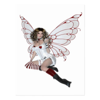 Lingerie Fairy Postcard