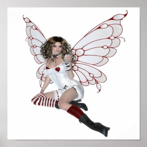 Lingerie Fairy Poster