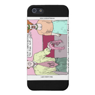 Lingerie Shop Pink Slip Funny Gifts Cards Etc iPhone SE/5/5s Cover