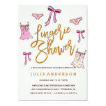 Lingerie Shower // BACHELORETTE PARTY invitation
